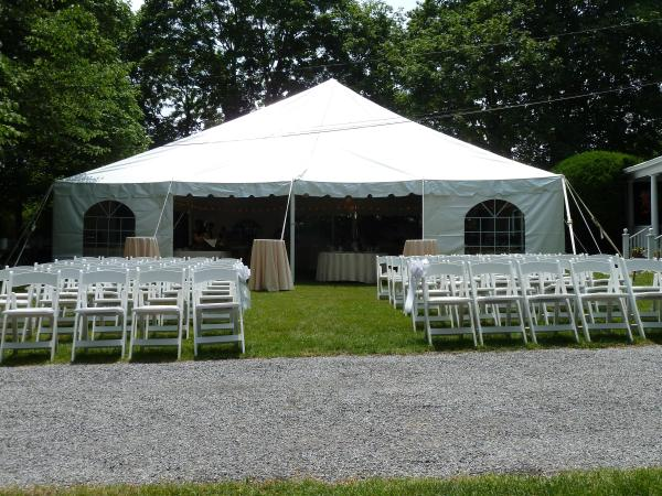 ... 40 x 40 Pole Tent ... & Wedding Tent Gallery - Wedding Tent Packages wedding tent ...